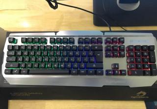 Phím giả cơ chuyên game Rdrags R500 Led 7 màu (Đen bạc)