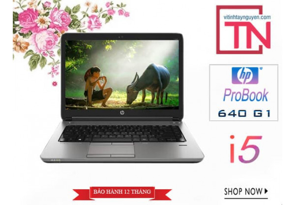 Laptop HP ProBook 640 G1 i5-4300M/ 4Gb/ 128Gb