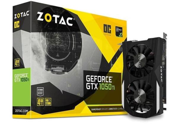 Zotac GTX 1050 2G GDDR5 2 Fan