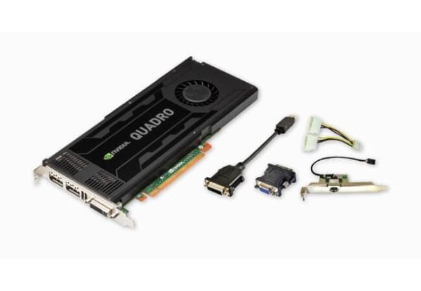 Nvidia Quadro Kepler K4000 3GB-192BIT GDDR5