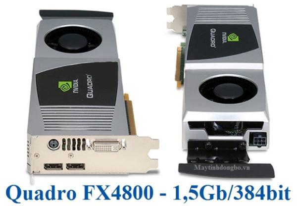 NVIDIA Quadro FX 4800 1.5GB 384-Bit