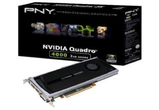 Nvidia Quadro 4000 2GB-256bit