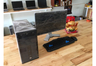 Combo HP EliteDesk 800 G1 Tower i5-4570, Lcd Dell 2312U