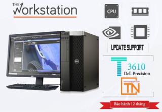 Máy trạm Dell Precision T3610 Xeon E5-1650v2-16g -Ssd 256 -1Tb-GTX 1050Ti