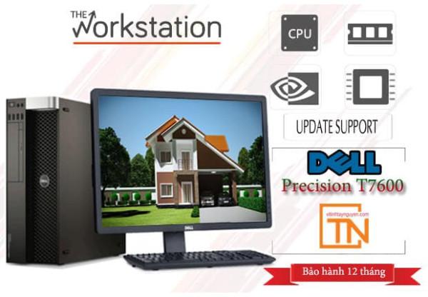 Máy Trạm Dell Precision T7600 2 E5 - 2640 32G Nvi k2000