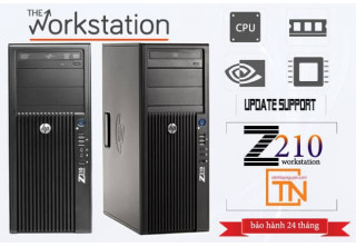 Máy trạm HP Z210 Workstation Xeon E3-1220 /4Gb /320Gb/ FX 580