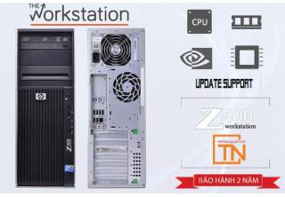 Máy trạm HP Z400 Workstation Xeon e5620, 8g, ssd 120, 500g, Quadro 600