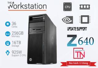 Máy Trạm HP Z640 Workstation 2 Xeon E5-2623 v3 32g Quadro  K4000