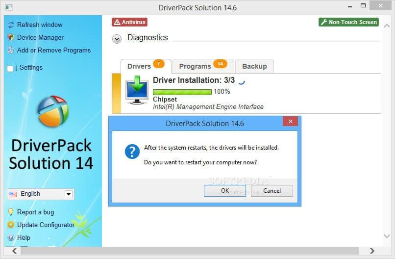Phần mềm tự động cập nhập driver các dòng Window